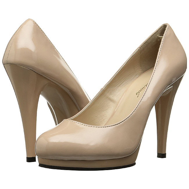 FLAIR-480 beige escarpins plateforme pleaser taille 37 - 38